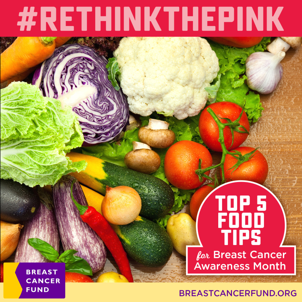 RethinkThePink Food Tips