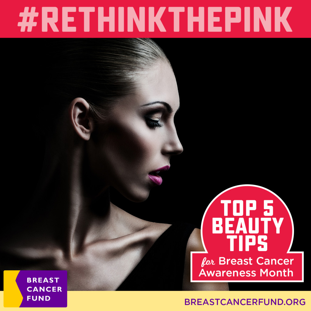 Rethink The Pink Beauty Tips